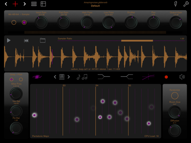 New App Gliderverb Lets You Glide Between Room Sizes