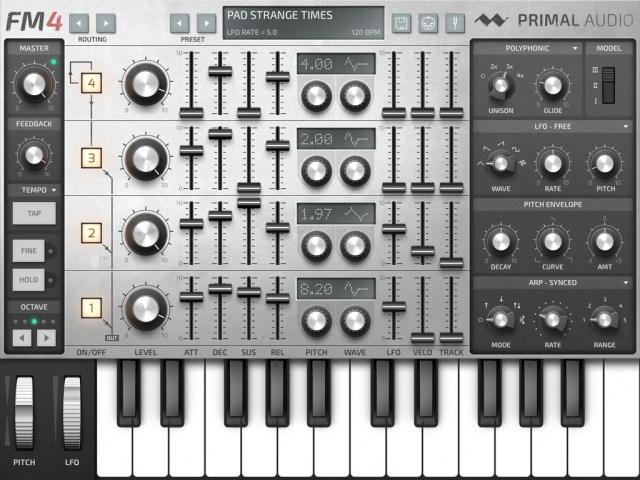 primal-audio-fm-4-synthesizer