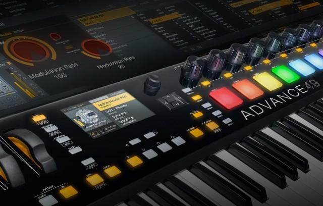 Akai Professional Intros Advance Keyboard Series – Synthtopia
