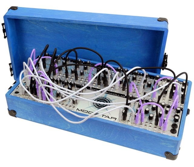 boomstar modular synthesizer at namm 2015 synthtopia. Black Bedroom Furniture Sets. Home Design Ideas