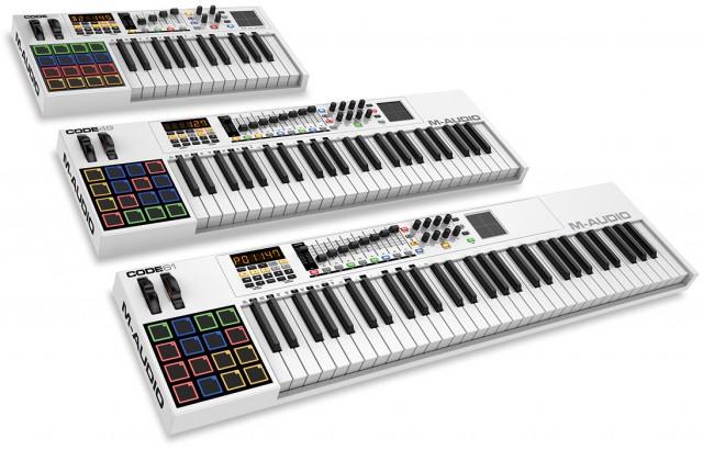 m-audio-code-series-keyboards