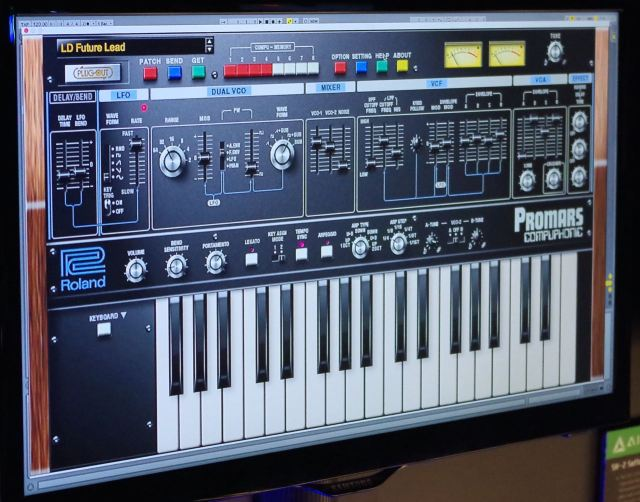 Roland Previews Promars Plug Out Synth For System 1