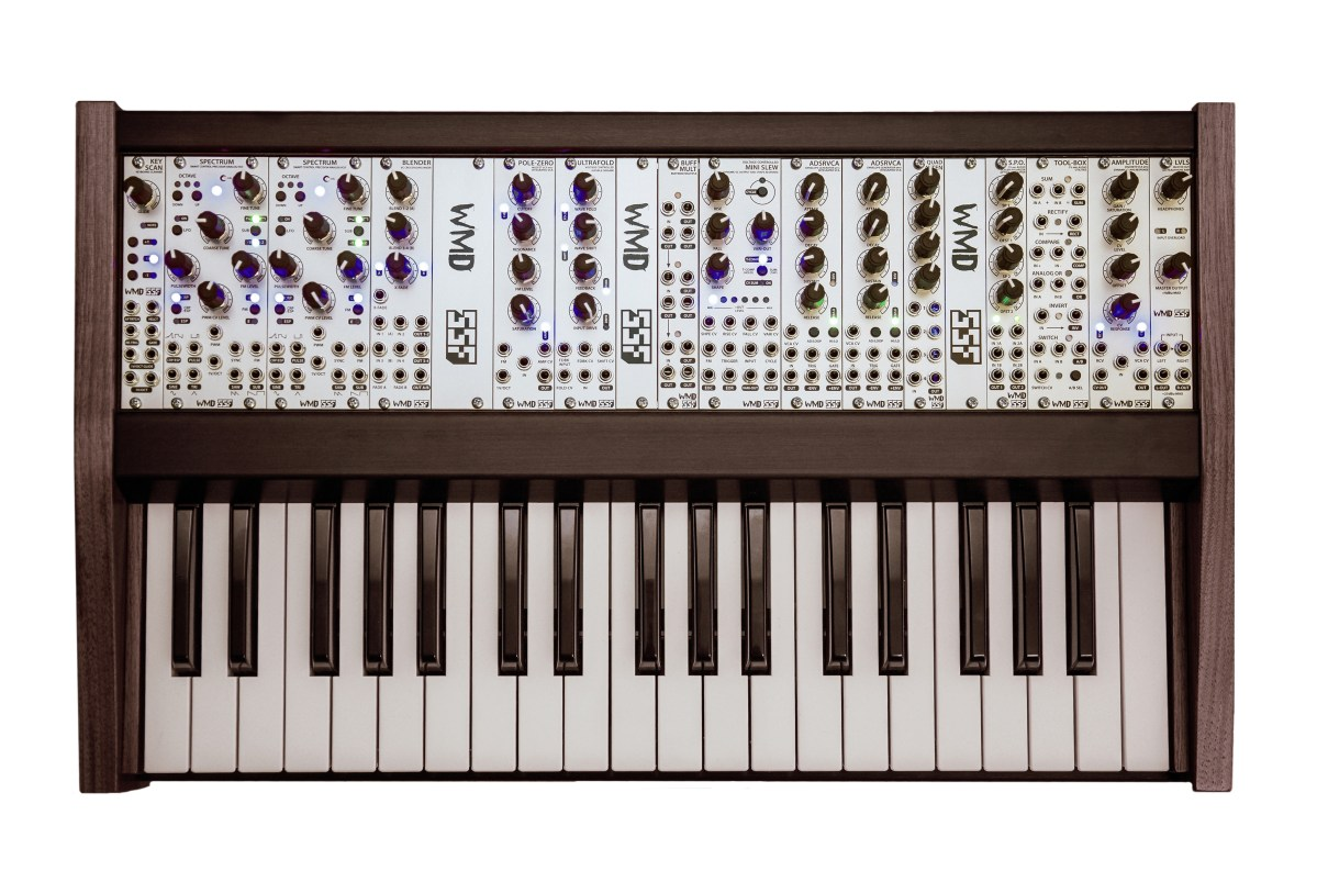 wmd ssf monolith eurorack keyboard synthesizer now shipping synthtopia. Black Bedroom Furniture Sets. Home Design Ideas