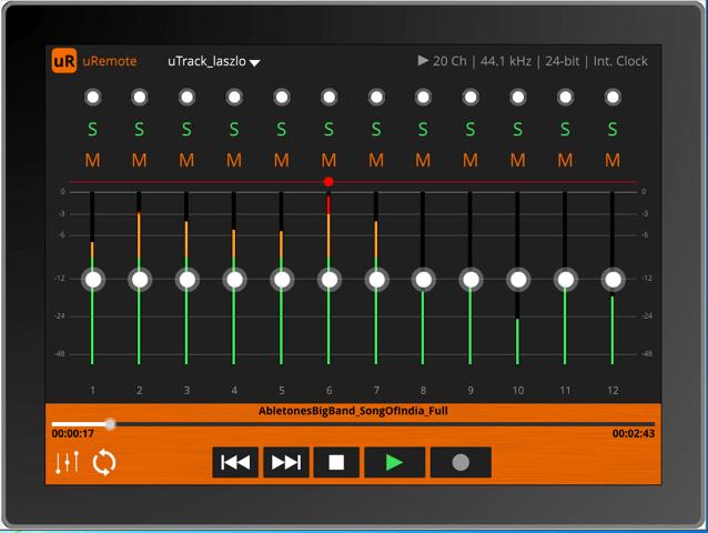 uRemote_mixer_tablet