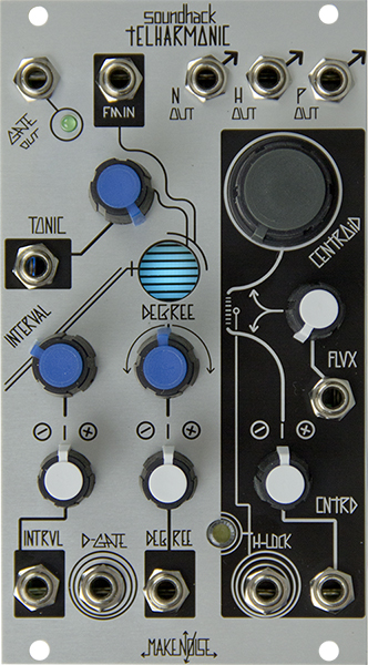 make noise intros telharmonic multi voice multi algorithm eurorack module synthtopia. Black Bedroom Furniture Sets. Home Design Ideas