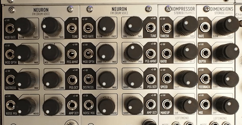 Audio Damage Neuron FM Drum Synth Module (Sneak Preview)