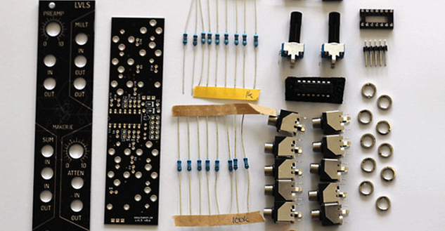 new eurorack module kits designed for synth diy beginners synthtopia. Black Bedroom Furniture Sets. Home Design Ideas
