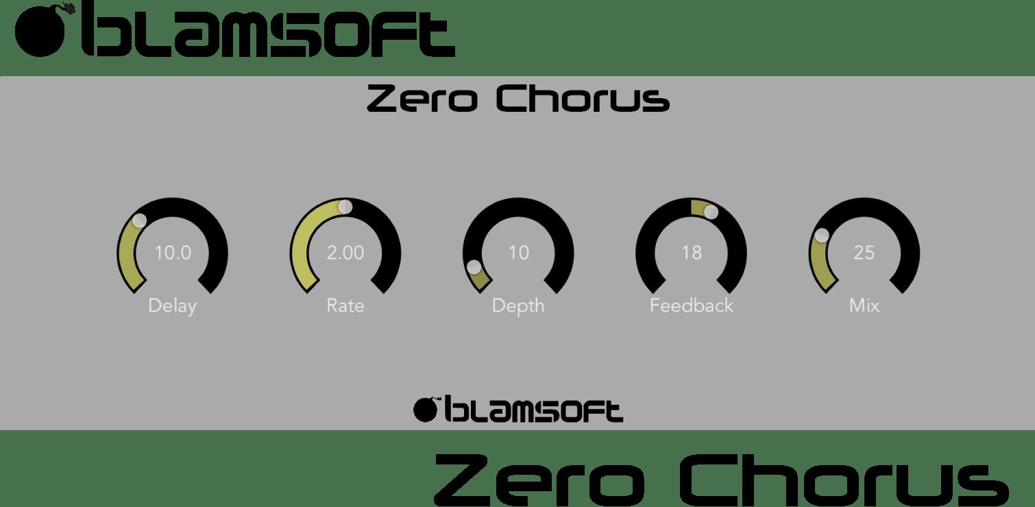 Blamsoft Intros Zero Chorus Audio Unit Extension For iOS