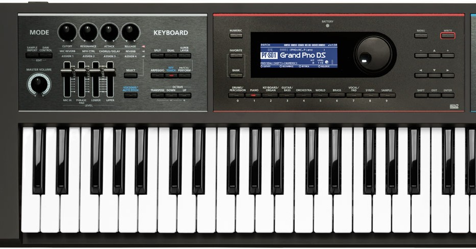 roland juno ds61 ds88 synthesizer hands on demo synthtopia. Black Bedroom Furniture Sets. Home Design Ideas