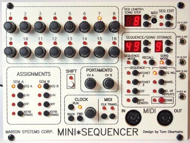 orberheim-sequencer