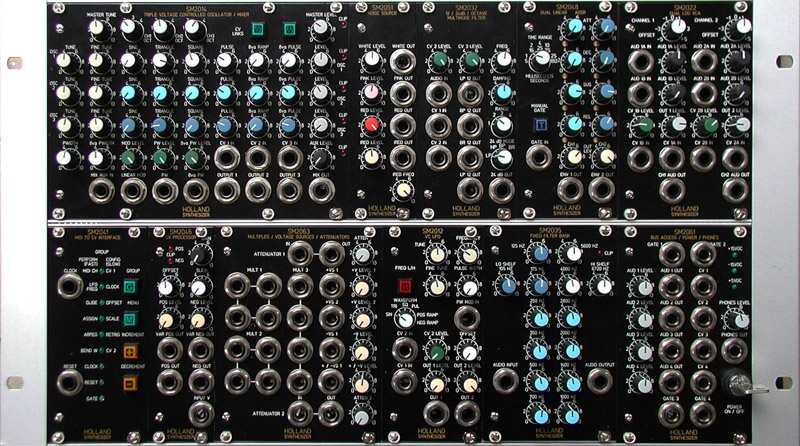 40 000 holland sm2000 modular synthesizer offers aerospace quality synthtopia. Black Bedroom Furniture Sets. Home Design Ideas