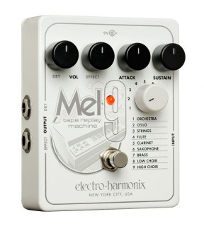 electro harmonix mel9 turns your guitar or keyboard into a mellotron synthtopia. Black Bedroom Furniture Sets. Home Design Ideas