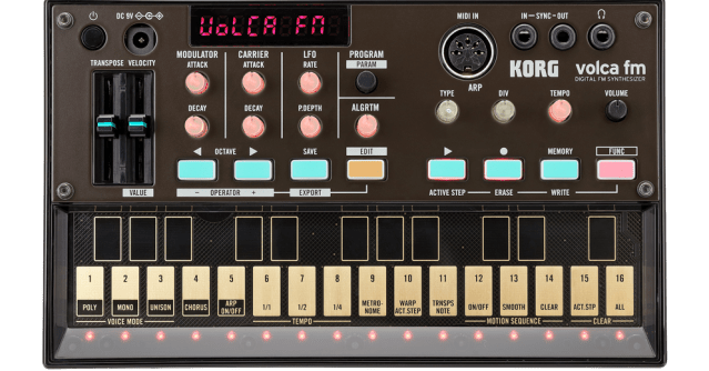Korg Volca FM Now Official, Here Are The Details | Synthtopia