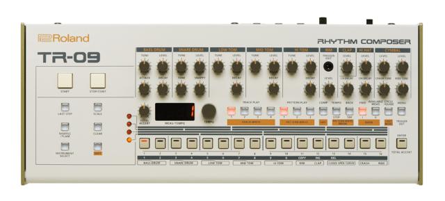 roland intros tb 03 bassline synthesizer tr 09 drum machine vp 03 vocoder more synthtopia. Black Bedroom Furniture Sets. Home Design Ideas