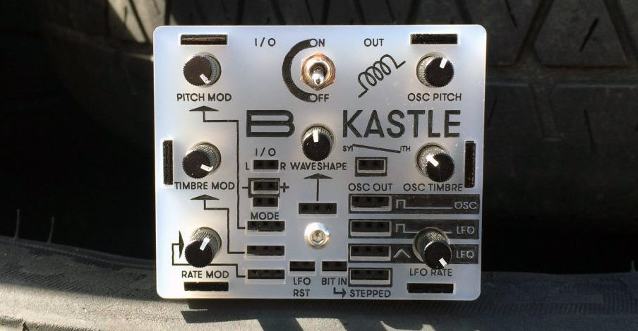 bastl intros kastle mini modular synthesizer synthtopia. Black Bedroom Furniture Sets. Home Design Ideas