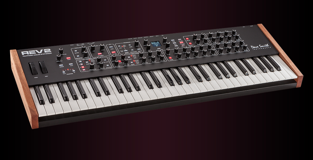 dave smith instruments prophet rev2 synthesizer review synthtopia. Black Bedroom Furniture Sets. Home Design Ideas