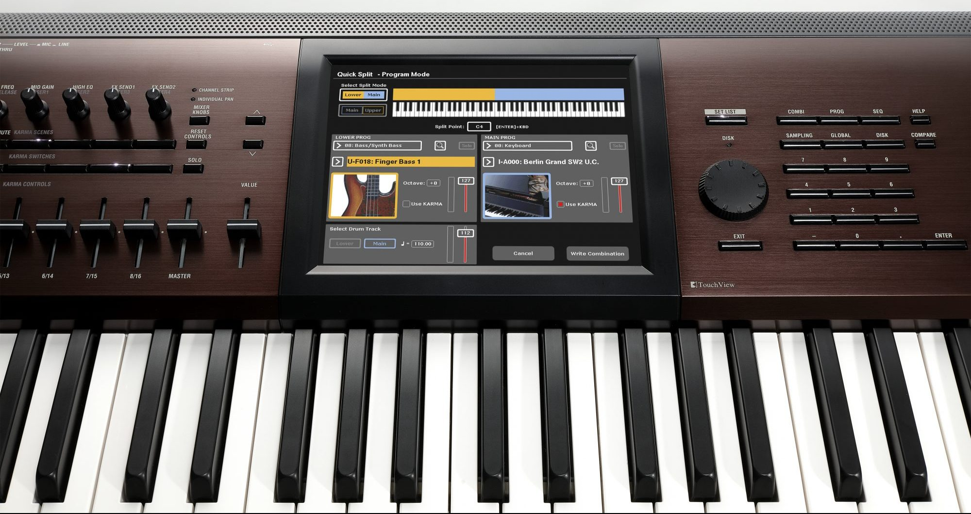 Korg Intros Kronos 88LS Light-Touch Keyboard | Synthtopia