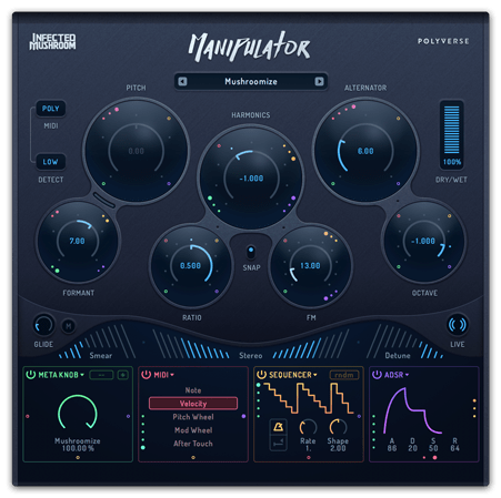 infected mushroom manipulator vocal processor now available synthtopia. Black Bedroom Furniture Sets. Home Design Ideas