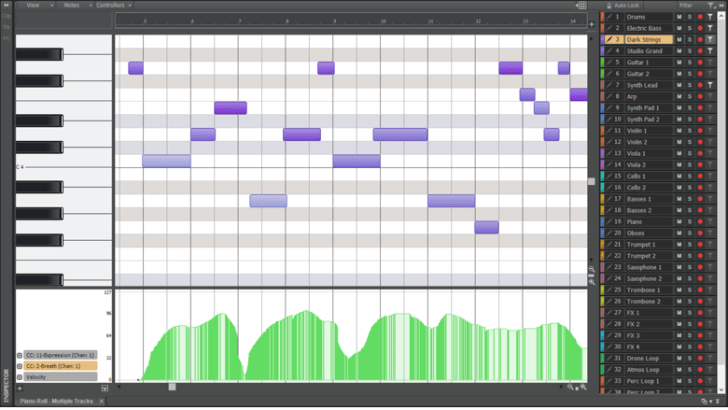 Cakewalk Sonar Updated With MIDI Editing & Bluetooth MIDI