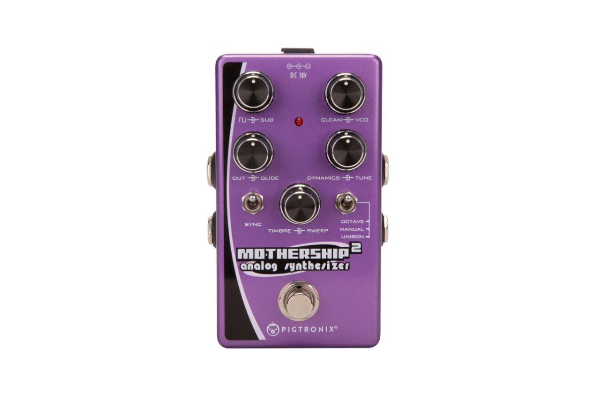 pigtronix debuts mothership 2 analog synth pedal  u2013 synthtopia