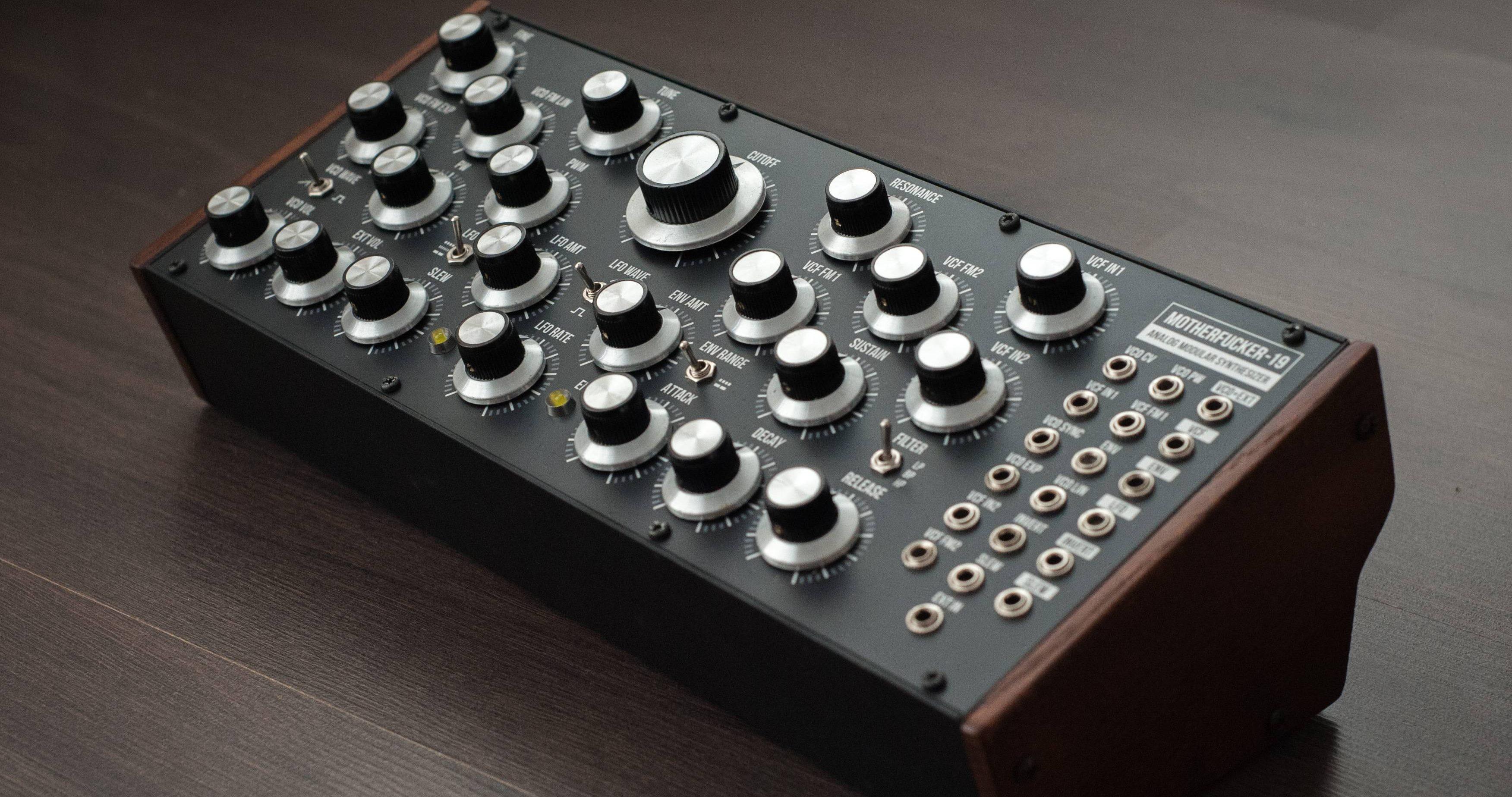 DIY Synth An Impressive Mofo | Synthtopia