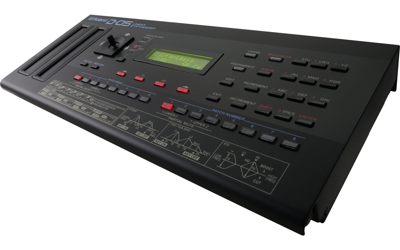 Roland Boutique D-05 Linear Synthesizer Recreates Classic D-50