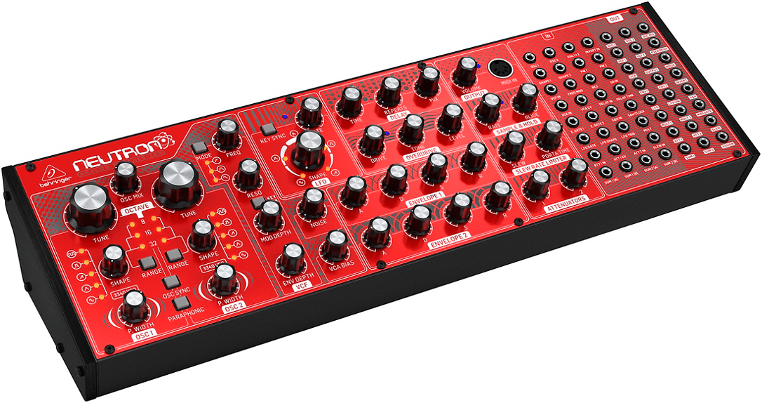 Behringer Neutron Analog Semi Modular Synth Coming In