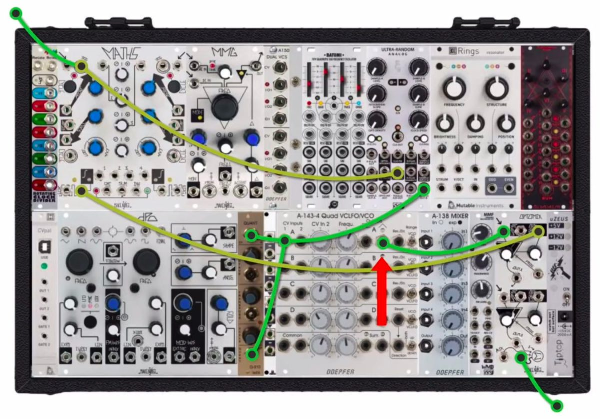 how to sync a eurorack modular to ableton live synthtopia. Black Bedroom Furniture Sets. Home Design Ideas