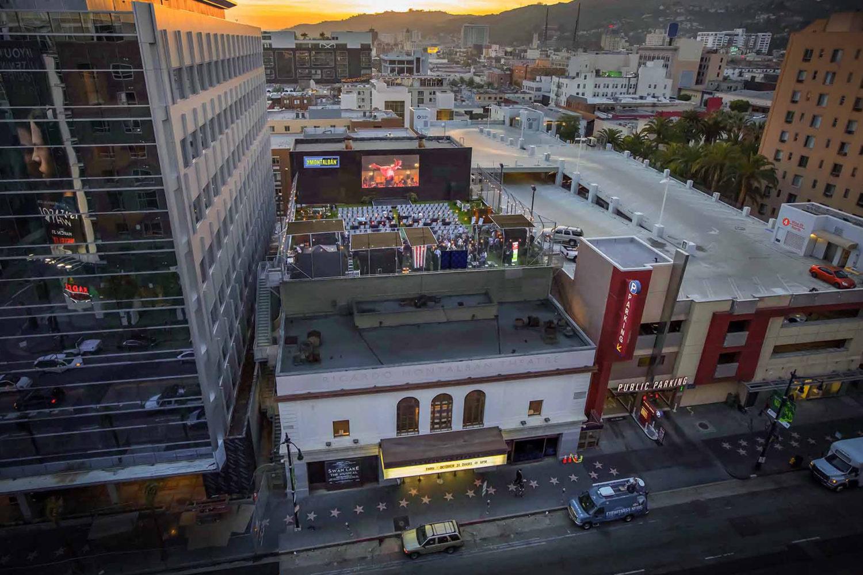 Montalban Theatre rooftop