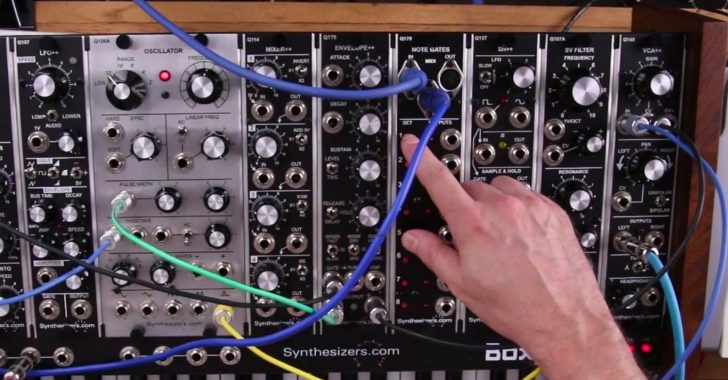 Synthesizers com Intros Q170 MIDI Gates Module | Synthtopia