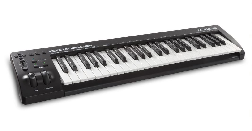 m audio intros new keystation mk3 usb midi keyboard controller series synthtopia. Black Bedroom Furniture Sets. Home Design Ideas