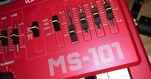 Behringer MS-101 Audio Preview (Roland SH-101 Clone) – Synthtopia