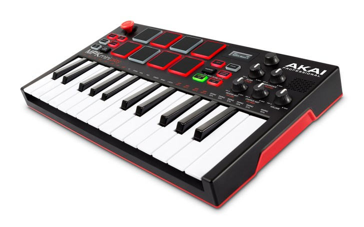 AKAI MPK Mini Play Combines MIDI Control With Built-In