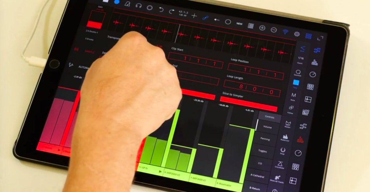 touchAble Pro Touch Controller For Ableton Live Now Available