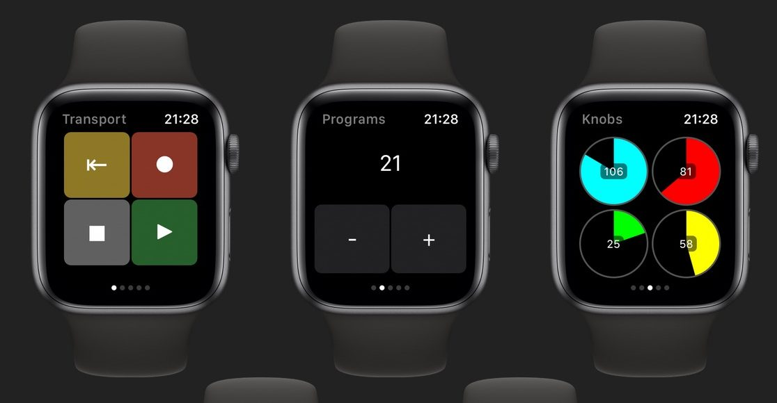 MidiWrist Turns Your Apple Watch Into A Wearable Wireless MIDI Controller