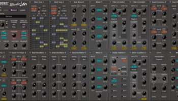 Free Software Modular Synthesizer, ModulAir, Offers Up To 64-Voice