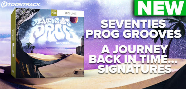Seventies Prog Grooves MIDI – A Journey Back in Time