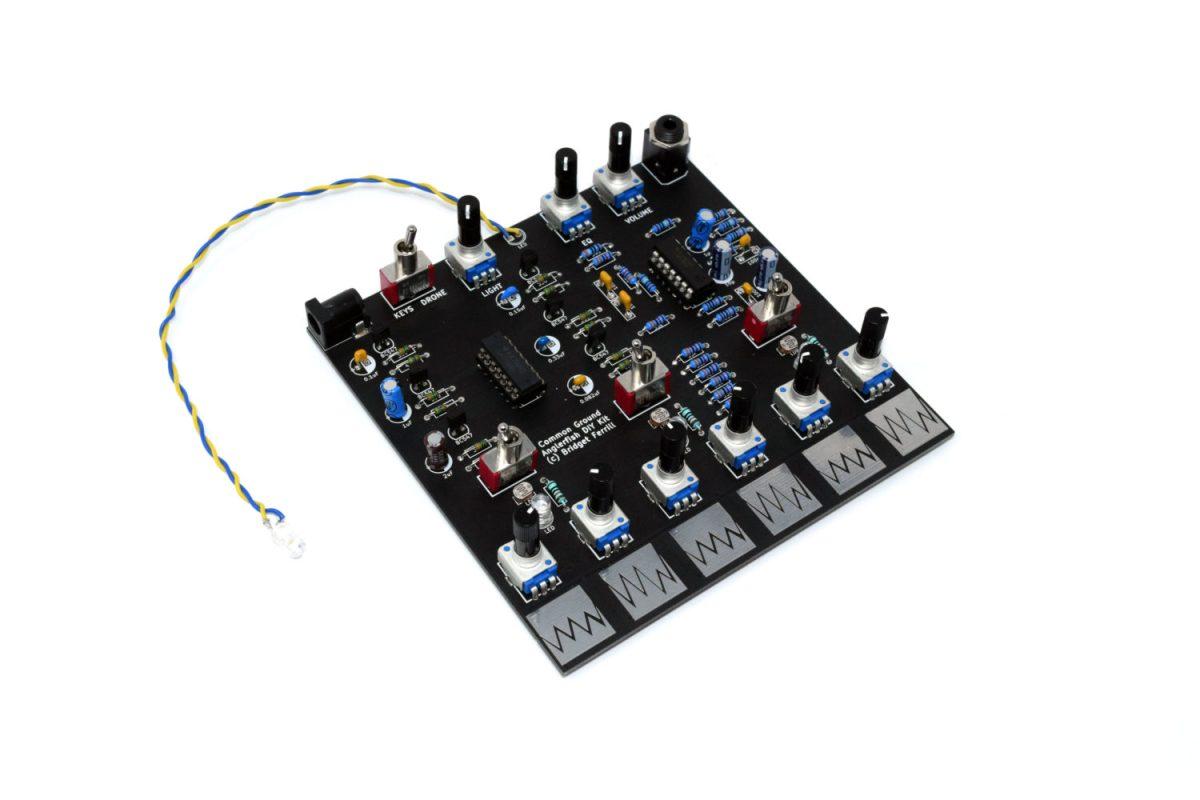 koma elektronik common ground intro anglerfish drone module diy synth kit synthtopia. Black Bedroom Furniture Sets. Home Design Ideas