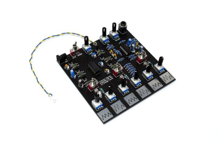 Koma Elektronik / Common Ground Intro Anglerfish Drone Module DIY