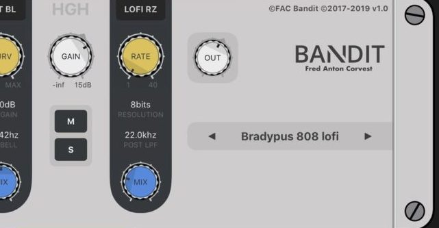 New iOS Effect, FAC Bandit, Gives You Three Frequency Bands Of Effects