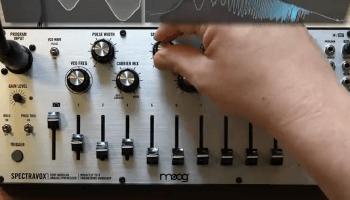 Moog Spectravox Eurorack Synthesizer Audio Demos – Synthtopia