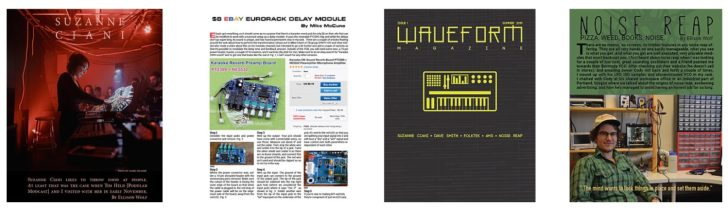 Free Print Magazine For Electronic Musicians, Waveform, Now