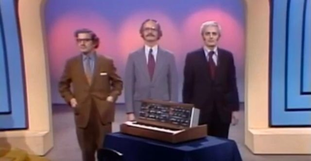 Bob Moog On 'To Tell The Truth' Game Show
