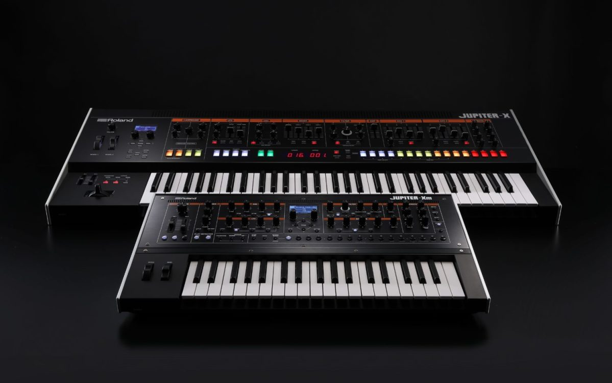 Roland Debuts All-New Jupiter-X Synth Lineup