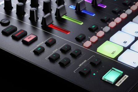Roland-MC707-pads-closeup