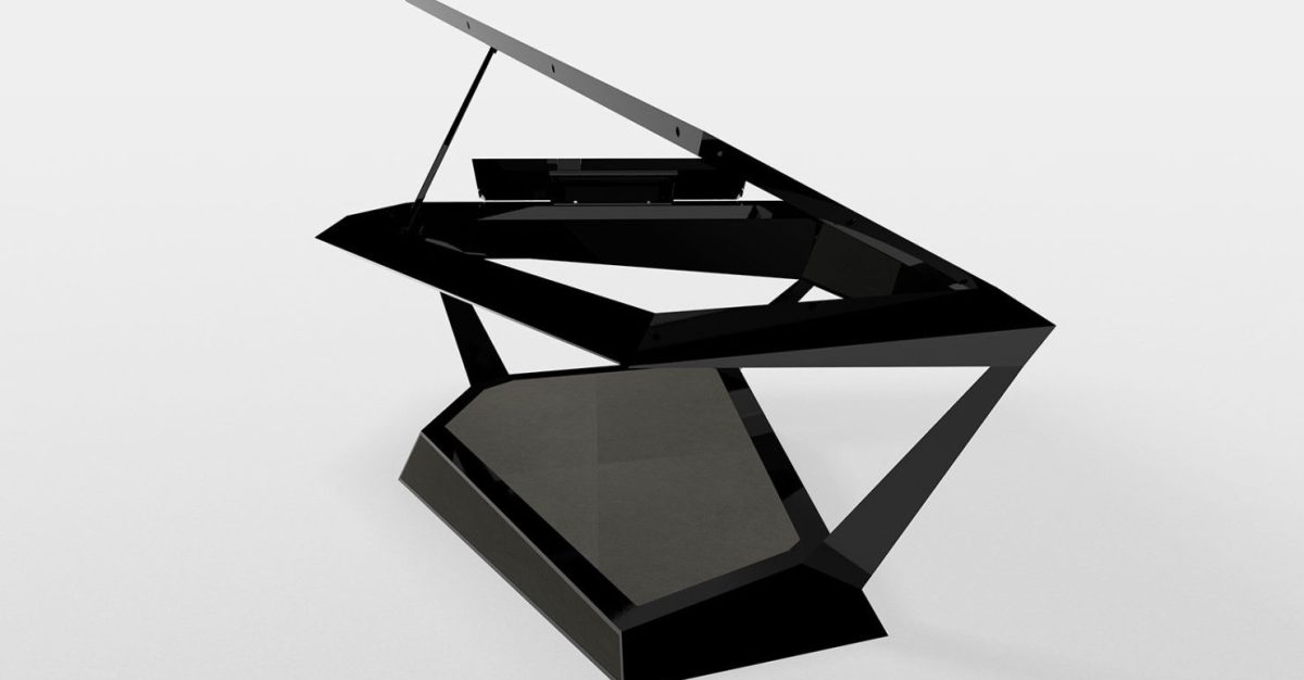 Roland GPX-F1 Facet Grand Is The Abstract Piano From The Future You Can't Buy