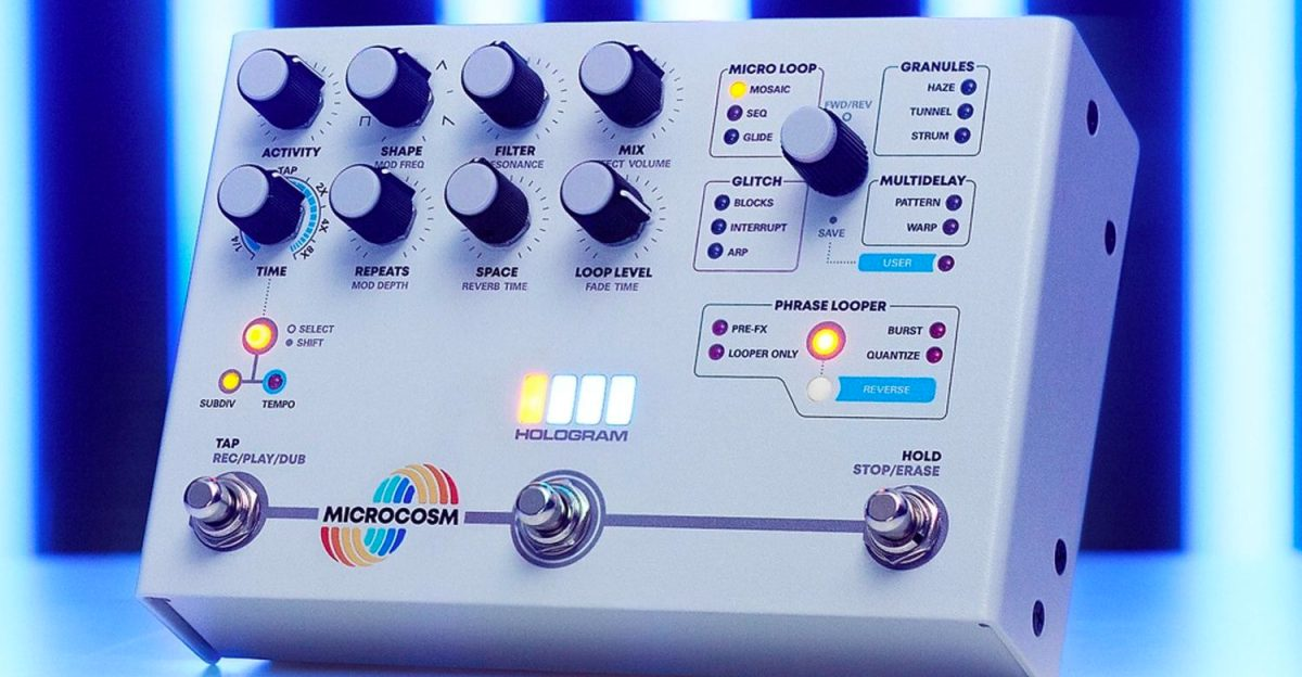 New Microcosm An 'Effects Toolkit For Adventurous Musicians'