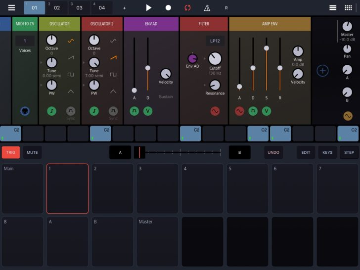 New Modular Groovebox Synthesizer For iOS, Drambo