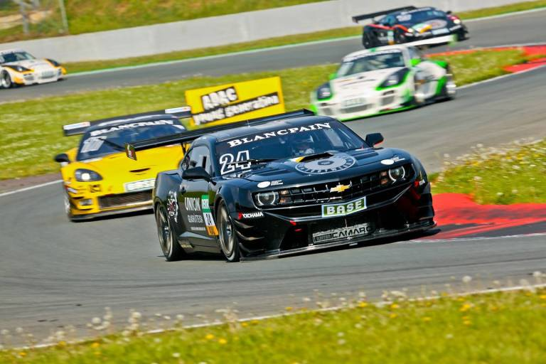 SYNTIX technical partner Sareni Camaro GT3 2