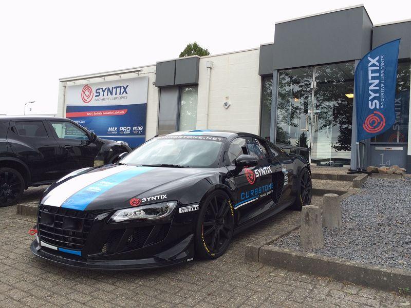 Audi R8 - Limburg Charity - JeDroomauto initiative - Curbstone Track Events - Syntix Innovative Lubricants